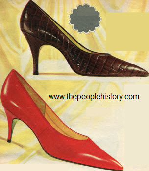 1965 Leather Pump