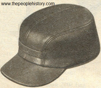 1965 Sheepskin Leather Hat
