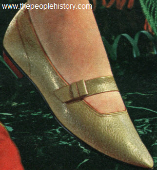1965 Tapered Toe Flat