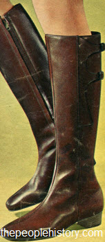 1967 Buckle Side Boot