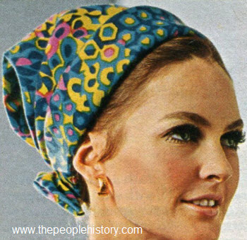 1967 Scarf Hat