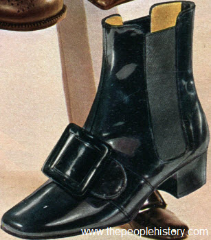 1969 High Reaching Ankle Boot
