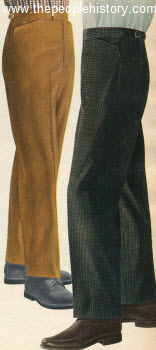 1960 Corduroy Trousers