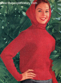 1960 Pullover with Hood