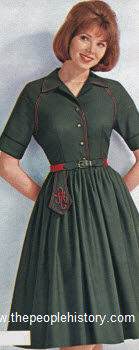 1963 Cotton Oxford Step In Dress