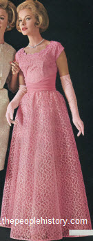 1963 Dramatic Gown