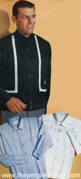 1963 Men's Embroidered Shirts