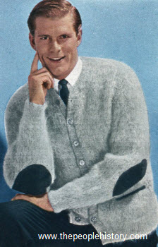 1963 Shaggy Mohair Sweater