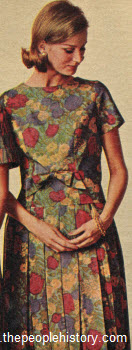 1964 Bow Trim Dress