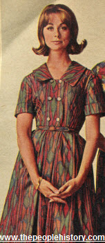 1964 Collared Dress
