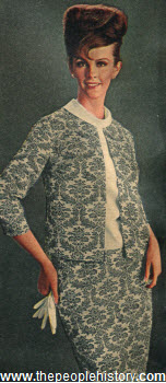 1964 Three Piece Suit Dress