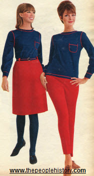 1965 French Inspired Separates