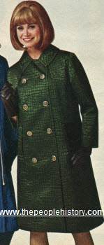 1965 Reptile Look Coat