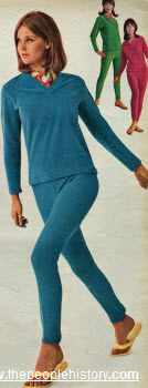 1965 Velour Pullover and Stretch Pants