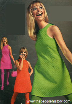 1967 Fashion Clothes Part Of Our Sixties Fashions Section