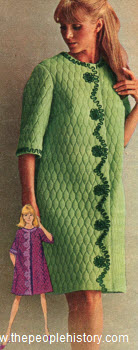 1967 Quilted Robe