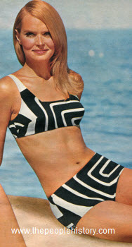 1968 Hiprider Swim Suit