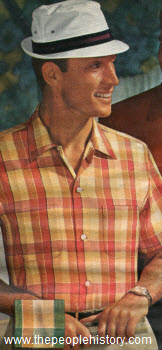 1968 Plaid Sport Shirt