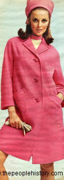 1968 Three Button Coat