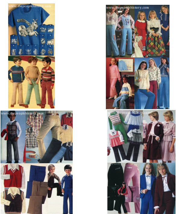 Example 5 1970's Boys and Girls Childrens Clothes