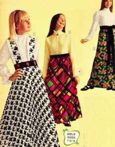 MINI DRESS - Disco Dress - Go Go Dress - Bell Bottoms - 1960s