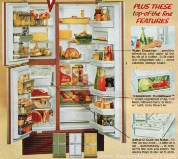 1972 Side by Side Fridge