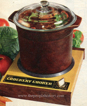 1973 Crockery Cooker