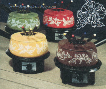 1975 Electric Fondue Pots