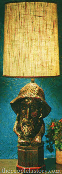 1970 Fisherman Lamp