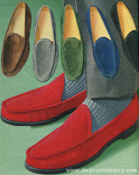 Seventies Fashion Accessories From 1971 Including Shoes