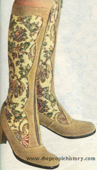 Tapestry Boot 1971