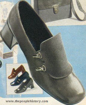 Seventies Fashion Accessories From 1972 Including Shoes