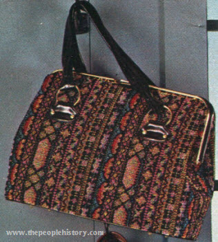 Tapestry Texture Bag 1972