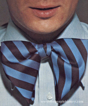 Clip-On Butterfly Bow Tie 1973