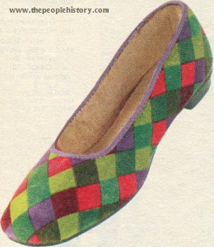 Multi-Color Slip On 1973