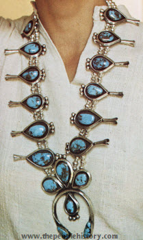 Squash Blossom Necklace 1973