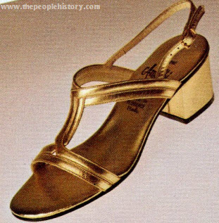 Leather Evening Sandals 1974