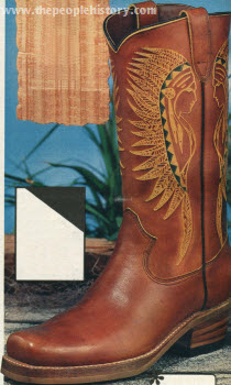 Indian Head Boot 1976