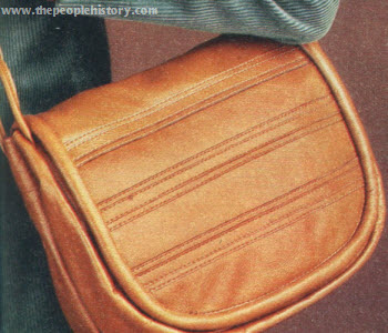 Stitched Leather Bag
