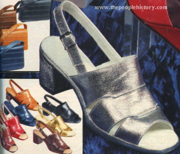 Three Strap Shoe 1976