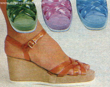 Translucent Strap Sandals 1978