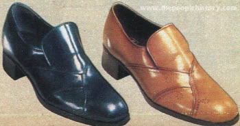 Pleated Vamp Shoes 1979
