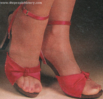 Seventies Fashion Accessories From 1979 Including Shoes