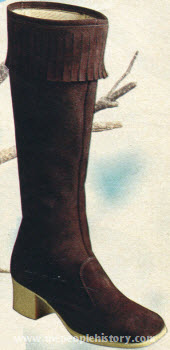 Fringe Top Boot 1970