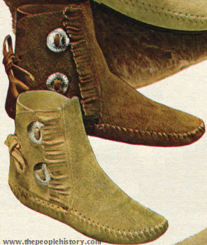 Over the Ankle Boot 1970