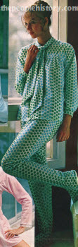 Happy Dot Pajama 1970