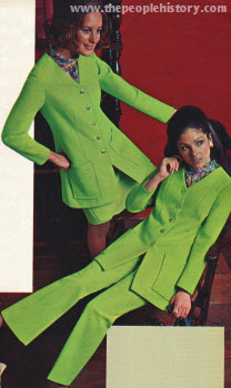 Polyester Knit Four Piece 1970