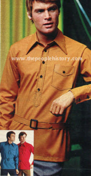 Self Belt Jac Shirt 1970