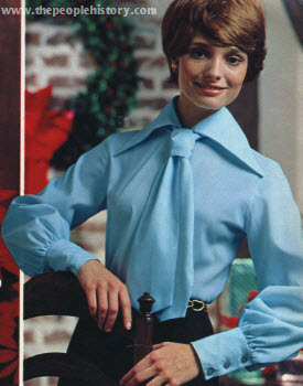 Seventies Fashion Clothing From 1970 Including Dresses