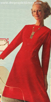 Bonded Knit Dress 1971